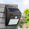 SOLAR SENSOR WALL LIGHT