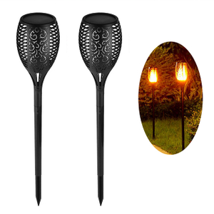 96LED Solar Flame Light