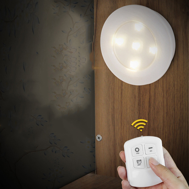 LED remote control pat light