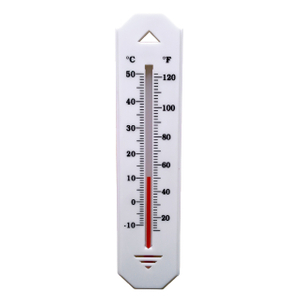 Indoor And Outdoor Plstic Thermometer