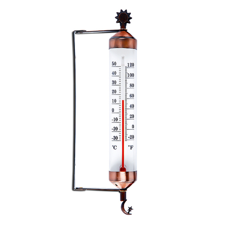 MetalL Garden thermometer